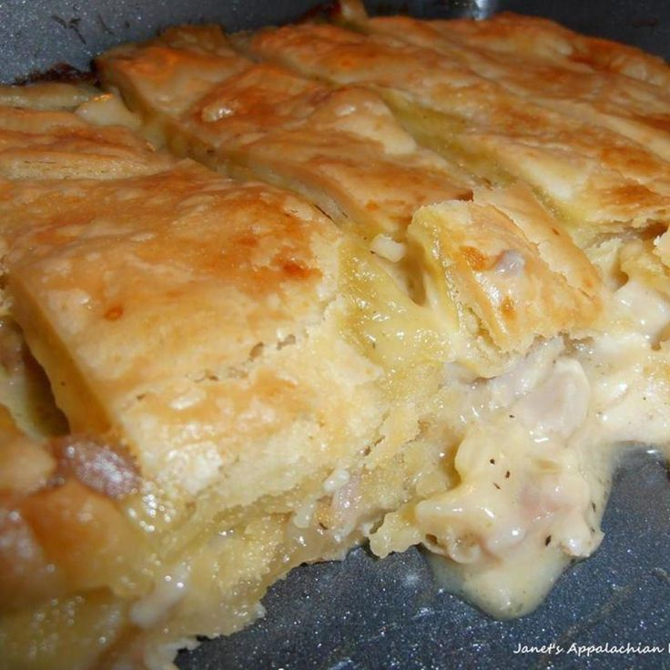 """""""I don't generally like any kind of pot pie but I LOVED this one!!!!! so did my hubby! i'm fixing to make this again today...I've been craving it! I love it because I can eat it just like the recipe says to make it or I can add veggies that I like. it's so versatile!!"""""""