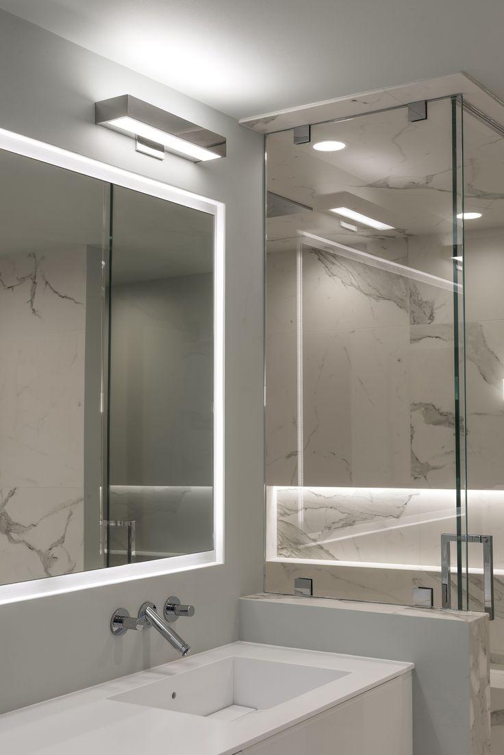 modern led bathroom lighting 44 best EDGE LIGHTING: Bath and Vanity images on Pinterest | Exterior lighting, Modern lighting
