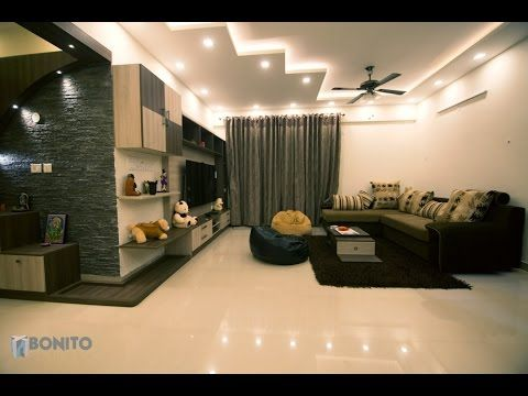 It Is A 2BHK House Interiors In Bangalore From Bonito Designs Total Cost 10