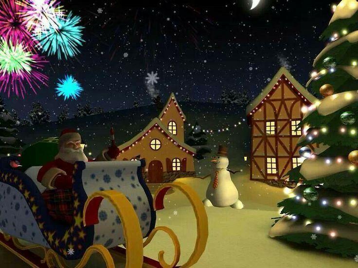 3d frohe weihnachten bildschirmschoner
