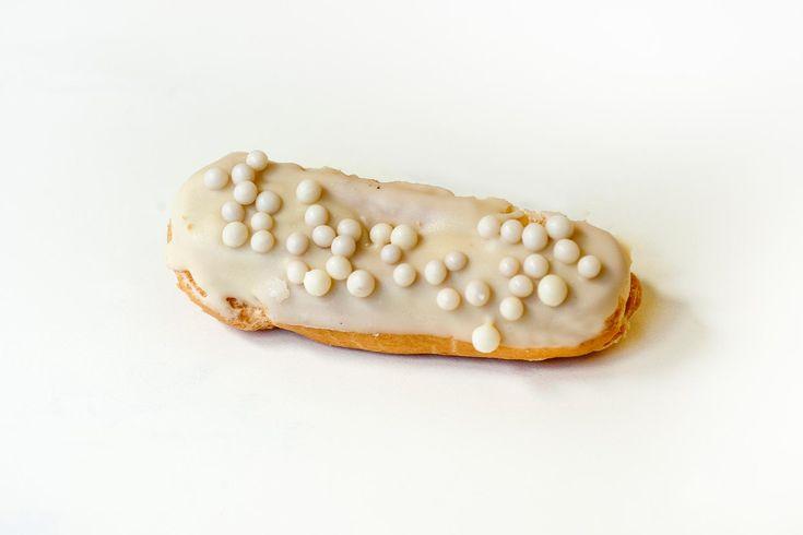 Petisú de chocolate blanco