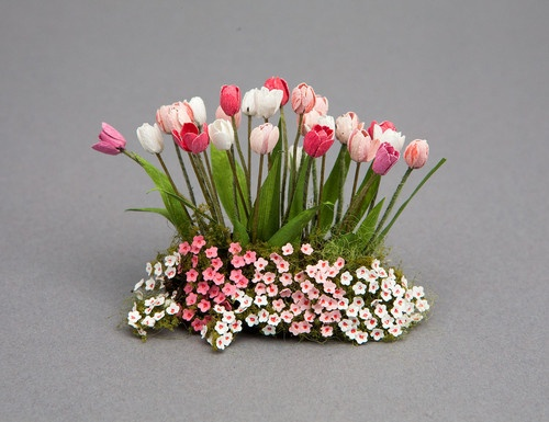 .: Miniatures Flowers, Dolls Houses, Dollhouse Gardens, Minis Flowers, Gardens Dollshous, Dollshouse Gardens Plants, Dollhouses Gardens, Flowers Ebay, Doll Houses