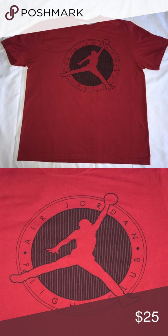 Men's Nike Air Jordan Flight Club Tee Only worn a couple of times and in excellent condition! Nike Shirts Tees - Short Sleeve