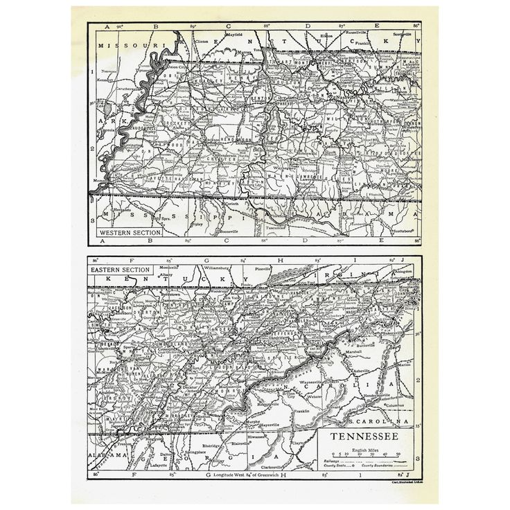 25 legjobb tlet a pinteresten a kvetkezvel kapcsolatban authentic pre world war i antique map tennessee 5x7 monochrome on paper nashville malvernweather Images