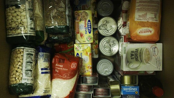 Fotografía: Redes Sociales - Recogida de alimentos
