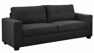 Product Description Homelegance Ashmont 9639-3 Sofa, Dark Gray Linen Fabric    Classic framing lends to the timeless look of the Ashmont Collection. Clean lines dominate the design of this seating group from the rectangular track arms to the complimenting stitching that defines the seat and backs. Covered in a dark gray linen fabric, this collection will fit perfectly in your classic modern living room.