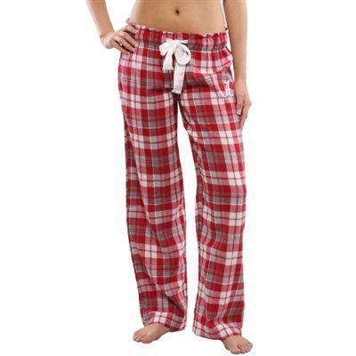 Women's Alabama Crimson Tide Crimson Reign Flannel Pants