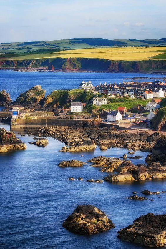 St Abbs, Scotland                                                                                                                                                     More