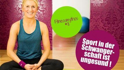 Sport ist in der Schwangerschaft die einfachste Möglichkeit, sich fit zu halten und optimal auf die Geburt vorzubereiten. Ein sportlicher