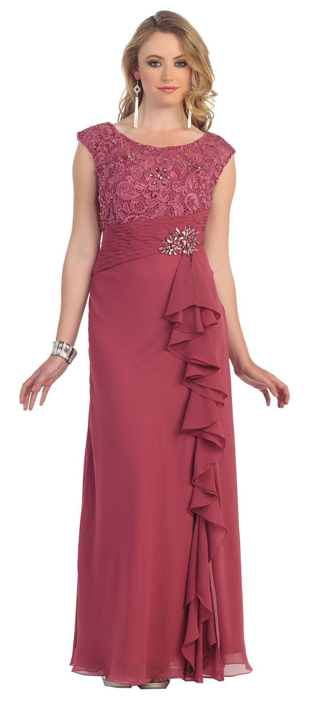 Dress barn plus size dressy dresses by alex evenings