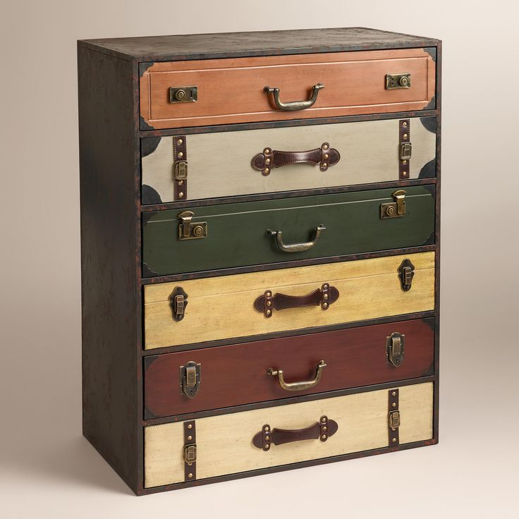 Suitcase Chest Of Drawers For The Home Pinterest
