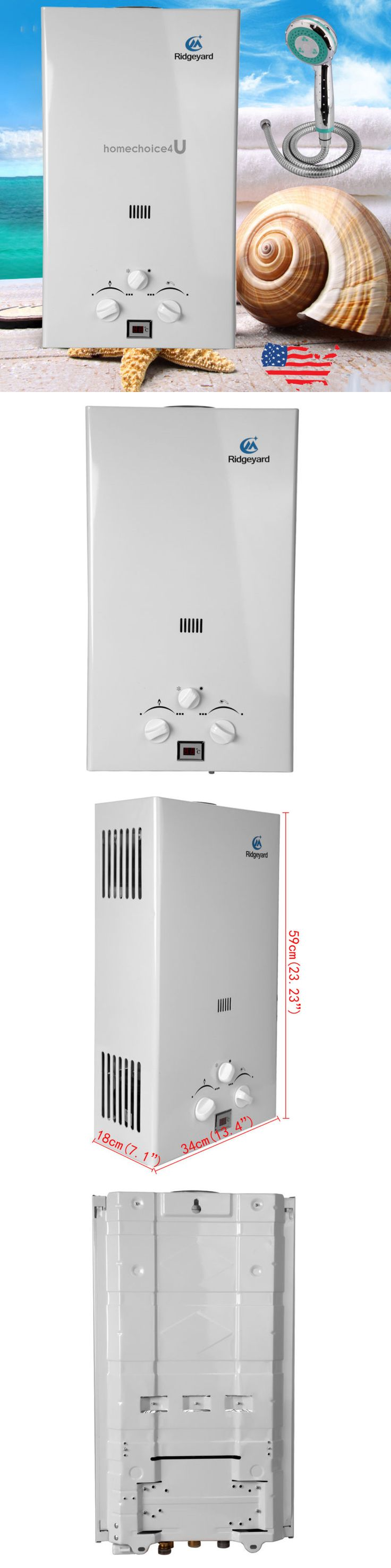Tankless Water Heaters 115967: 10L Propane Gas Lpg Instant Hot Water Heater Tankless Boiler Open Flue W Shower -> BUY IT NOW ONLY: $109.99 on eBay!