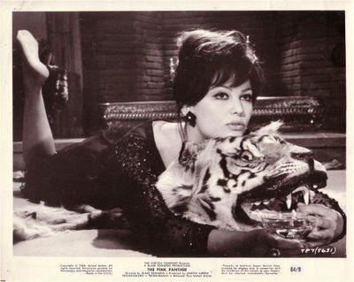 Claudia Cardinale The Pink Panther (1963)
