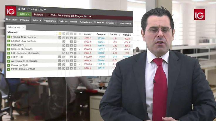 La caída del crudo lastra a las Bolsas 14/01/2016