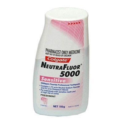 Colgate NeutraFluor 5000 Sensitive 115gm