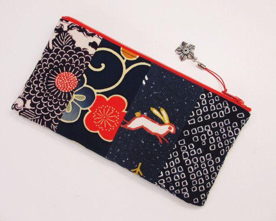 vintage kimono small bag