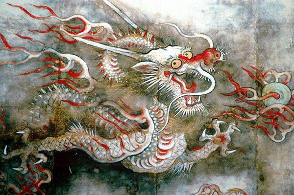 Korean Dragon: 54 Best Dragon Irezumi Images On Pinterest