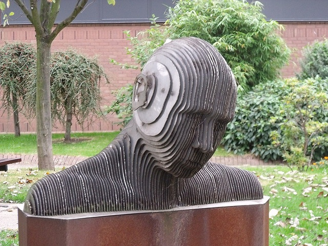 Head bust - Aston Uni grounds by ell brown, via Flickr