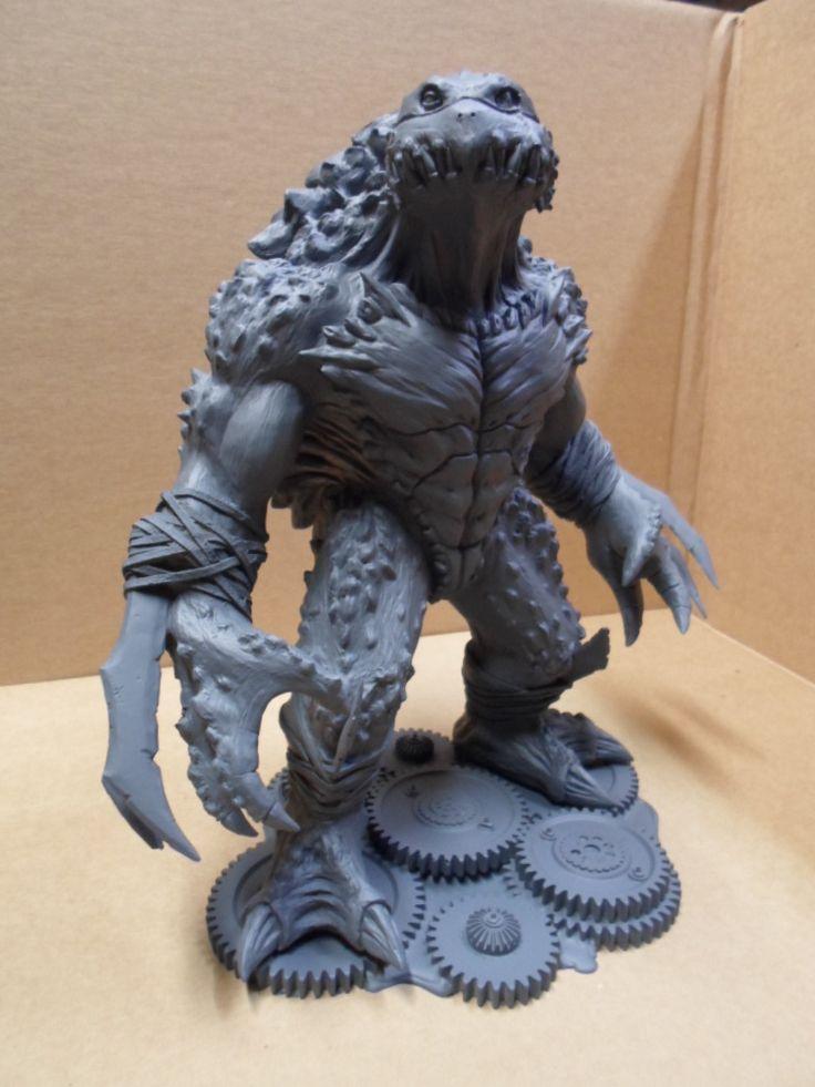 Teenage Mutant Ninja Turtles Slash Resin Model Kit Statue