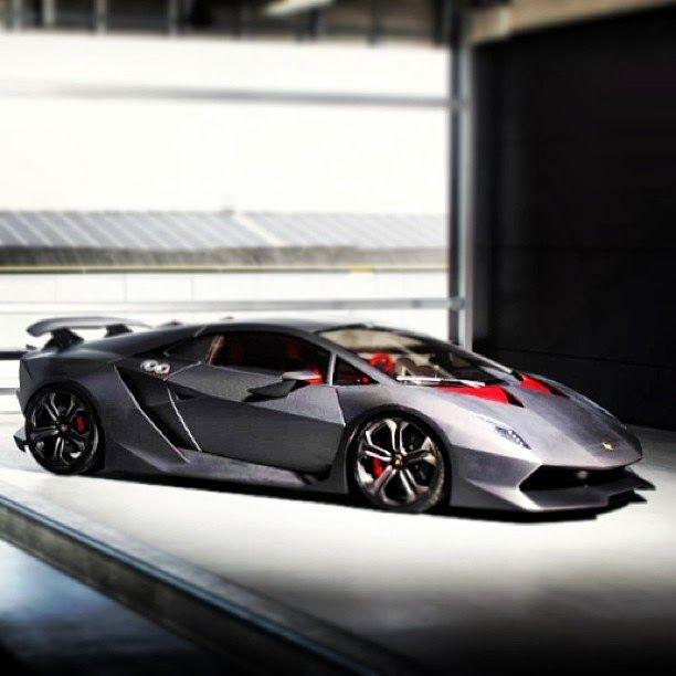 The Infinite Gallery : Lamborghini Sesto Elemento
