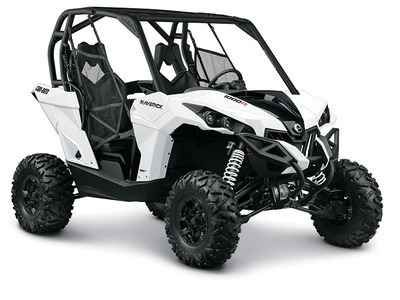 """New 2015 Can-Am Maverick 1000R ATVs For Sale in Florida. 2015 Can-Am Maverick 1000R, 2015 CAN-AM® MAVERICKâ""""¢ 1000RLead the pack with the most powerful two-seater sport side-by-side in the industry. Its 101-hp engine leads the way, and its rider-focused design and impressive handling provide a comfortable and confident ride. But to get a true sense of its power, drive on. Because the ride says it all.Standard Features May Include:101-hp Rotax® 1000R V-Twin engine with high-flow…"""