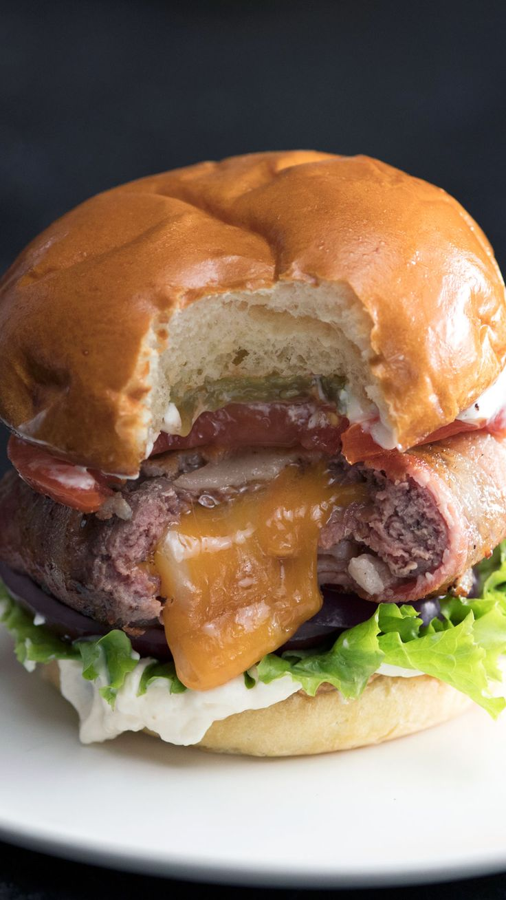 Bacon Wrapped Burger