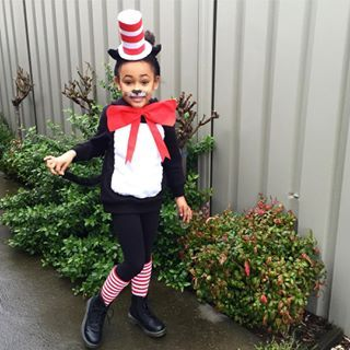 This purr-fect Cat in the Hat. | 19 Kids Who Completely Nailed Their Book Week…
