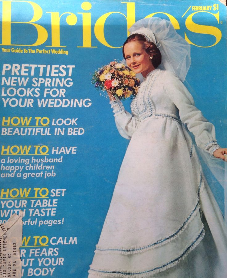 Brides Magazine Feb. 1973