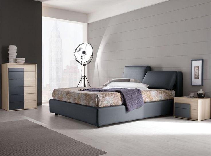 Modern Italian Bed Up   Bedroom Set by SPAR - $3,195.00