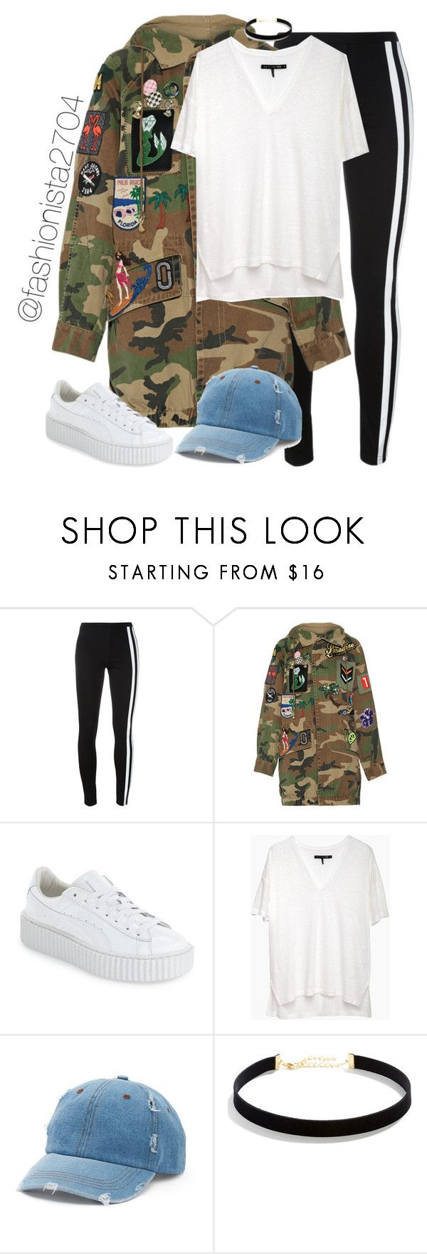 """Untitled #893"" by fashionista2704 ❤ liked on Polyvore featuring Y-3, Marc Jacobs, Puma, rag & bone/JEAN, Mudd and LULUS"