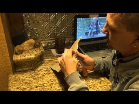 How To Make a Leather Western Cowboy Holster 1/3 - YouTube