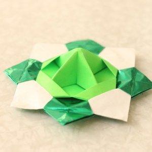 折り紙コマの作り方