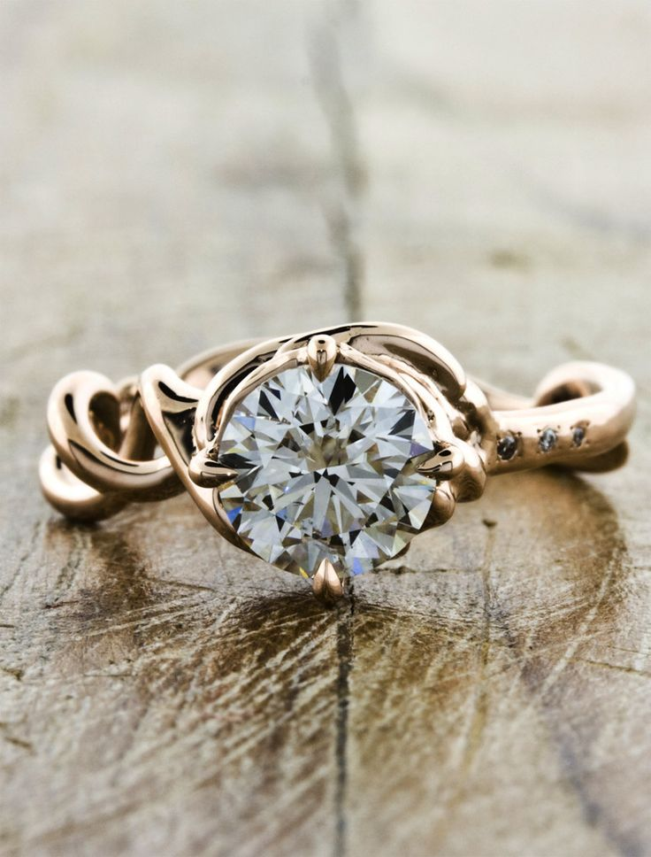 Best Mandy Vintage Gold Engagement RingsPerfect