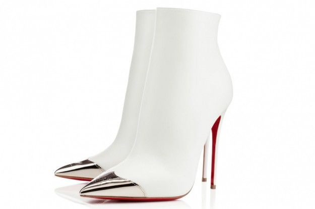 Ankle boot bianchi Christian Louboutin