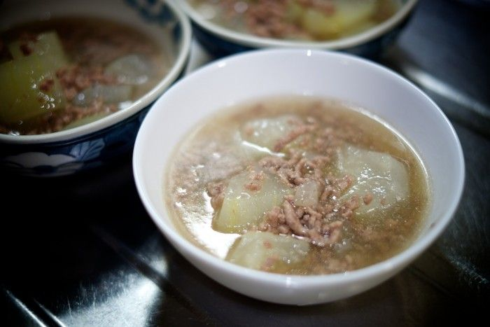 white gourd | Cooked dishes | 冬瓜と豚挽肉で一品