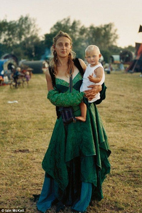 Photographer Iain McKell took his first pictures of new age travellers 25 years ago. His amazing pictures chart how the movement has changed...