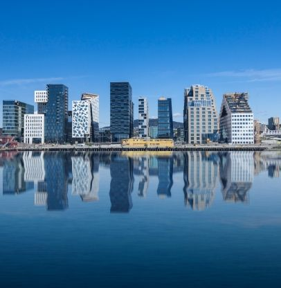 modern part of the city, Oslo - Norway, I have come to like this part of Oslo! It´s my urban haven <3
