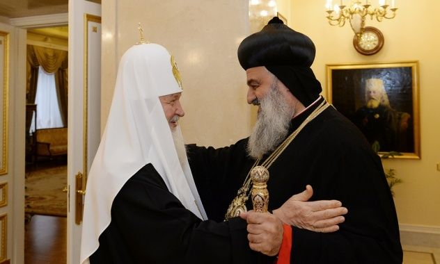 His Holiness Patriarch Kirill meets with Patriarch of the Syriac Orthodox Church | The Russian Orthodox Church