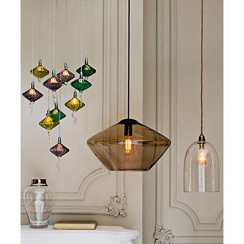 Buy John Lewis Soren Glass Ceiling Light, Large Online at johnlewis.com
