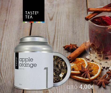 TASTE3 TEA Apple Orange