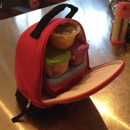 Amazon.com: Rubbermaid LunchBlox Kids Tall Lunch Kit, Blue/Orange/Green, 1866739: Lunch Box Containers: Kitchen & Dining