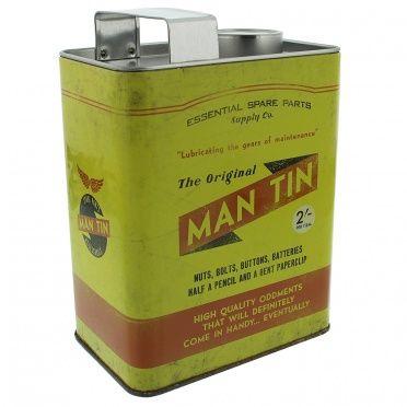 The Original Man - Oil Can Money Tin