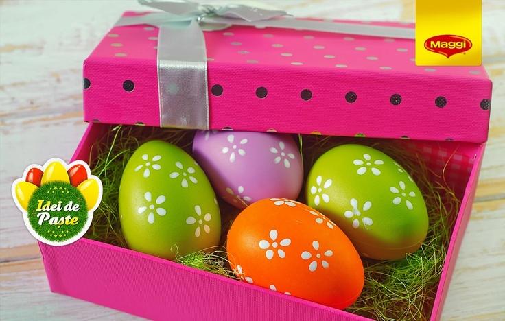 A great gift idea for the Easter host // O idee de nota 10 pentru gazda mesei din Duminica Mare  -> https://www.facebook.com/MAGGI.Romania