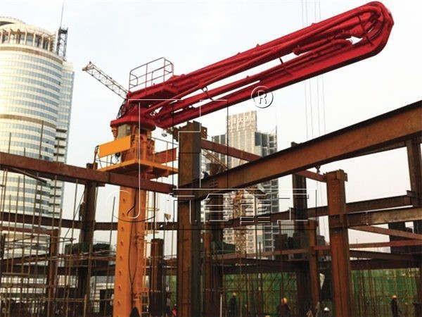HG28 Floor-Climbing Hydraulic Concrete placing boom