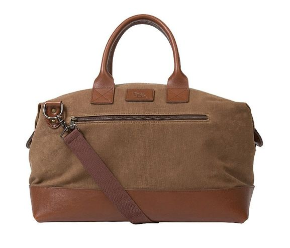 RODD & GUNN - Hawthorne canvas weekender mens bag. Made in New York, USA.
