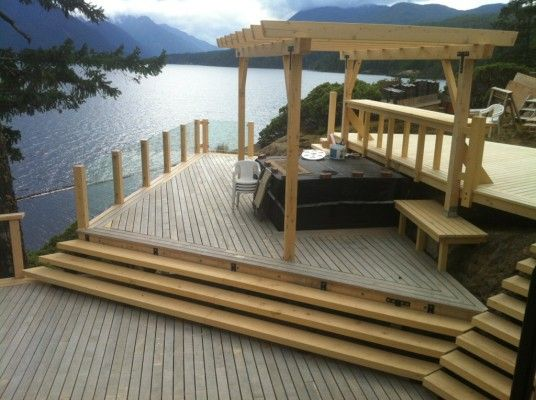 86 best recent projects images on pinterest vancouver for Decking boards delivered