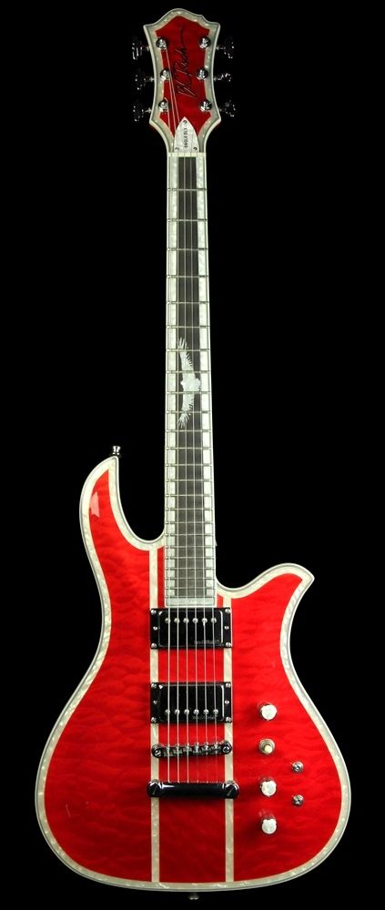 B.C. Rich Blood Eagle electric Guitar --- https://www.pinterest.com/lardyfatboy/