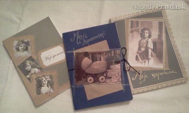 Spomienková kniha - ručná práca (fotopostup)