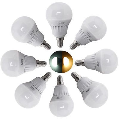 6x 5w ses e14 led smd #globe bulb golf ball shape lamp #energy saving #light 240v,  View more on the LINK: 	http://www.zeppy.io/product/gb/2/111653405495/