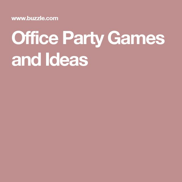 Christmas Games Office Party: Best 25+ Office Party Games Ideas On Pinterest